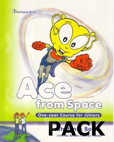 Ace from Space One-year Course for Juniors - ΠΑΚΕΤΟ Όλα τα βιβλία της τάξης